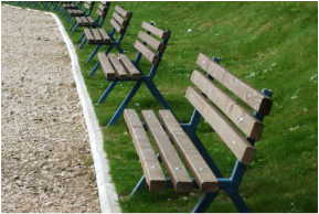Picture :park benches