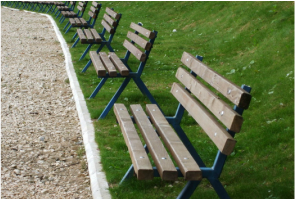 Picture: park benches