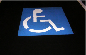 Picture: wheelchair symbol