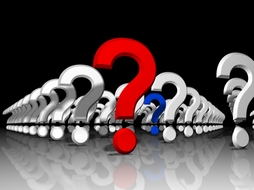 Picture: question marks