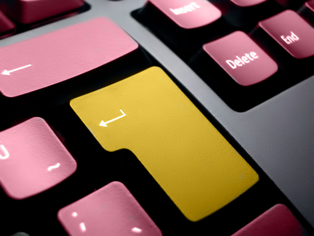 Picture of computer keyboard